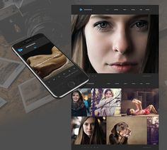 Defrozo: Trendy Photography Portfolio Theme from MotoCMS | Resources | Graphic Design Junction