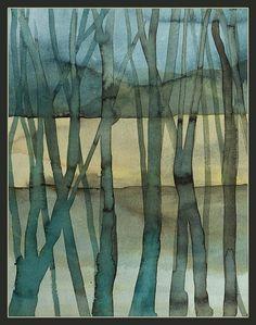watercolor by Anna Chmiel