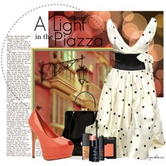 """""""A Light in the Piazza"""" by cynthia335 on Polyvore - Italian vacation clothes"""