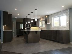 This was a massive home renovation, with the focus on kitchen construction. Our custom designed solution created open concept, contemporary space the family Farmhouse Renovation, Home Renovation, Kitchen Renovations, Open Concept, Custom Design, Home Improvement, Contemporary, Construction, Furniture