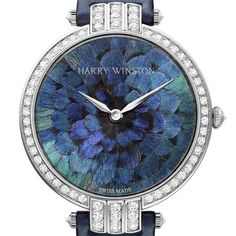 "Not much into women's wrist watches but this one I can get on board with - La montre ""Premier Feathers"" d'Harry Winston"