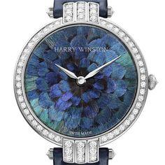 """La montre """"Premier Feathers"""" d'Harry Winston"""