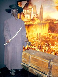 Plague Doctor at Zurich Museum of Medicine
