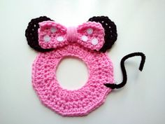Crochet Tiffie Mouse Camera/Lens Buddy, $10 at The Hook Nook **Pattern coming soon!