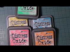 Product Spotlight - Tim Holtz Distress Oxide Ink Pads