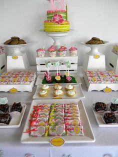 Flamingos Birthday Party Ideas   Photo 1 of 27   Catch My Party
