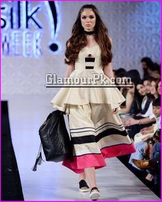 Saira Faisal and Shakira Usman showcased their collection at PFDC Sunsilk Fashion Week 2017 under their brand Saira Shakira.