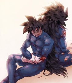 Goku and Raditz.i feel like deep down, raditz really wanted his brother to join him! not just because he was another saiyan but his own brother!