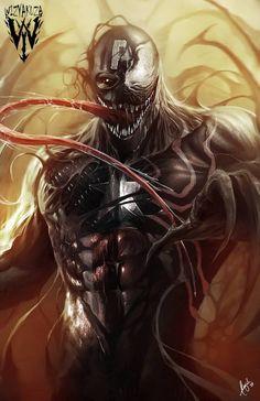 Venom possessed Captain America