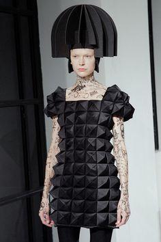 Junya Watanabe AW15, Dazed runway, Womenswear, Paris