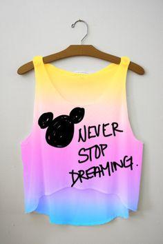 Disney Crop Top!!!