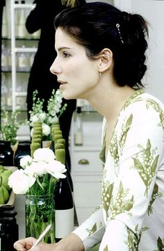 this lilly of the valley cardigan Sandra bullock was wearing in Practical Magic