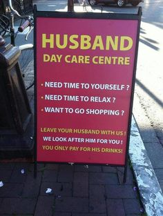 hahaha...this would be great to have up during Christmas shopping season :)