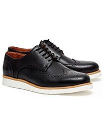 French Connection Casual Leather Brogue Shoes