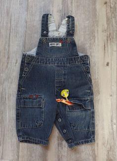 Salopette jean garçon 3 mois - Grain de blé.