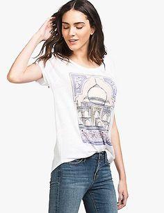 Taj Mahal Tee   Lucky Brand