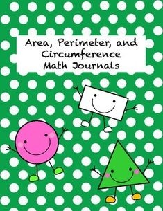 Area, Perimeter and Circumference math journal FREEBIE! Great for critical thinking math centers, ready to print with an answer key