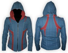 Modern Assassin Jacket...I think I want to make one but in black and grey