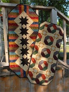 Weekend Runners, Too! Table Runner Quilt Pattern (instant download)
