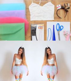 Unicorn DIY halloween costume