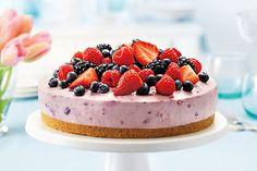 Berry Bliss No-Bake Cheesecake Recipe on Yummly. @yummly #recipe