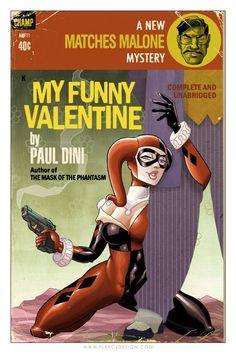 Tony Fleecs' comics-themed retro pulp covers