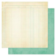 Heidi Swapp - Vintage Chic Collection - 12 x 12 Double Sided Paper - Bookkeeping at Scrapbook.com
