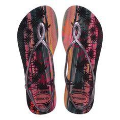 211345546 Roxy, Chinelos Rosa, Sandálias De Cinta, Sapatos Sandálias, Revenda,  Estampada,