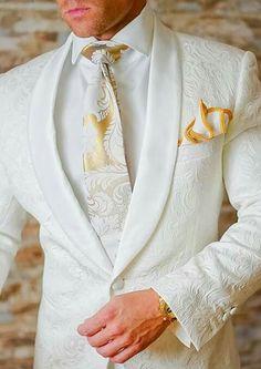 Sexy white & gold