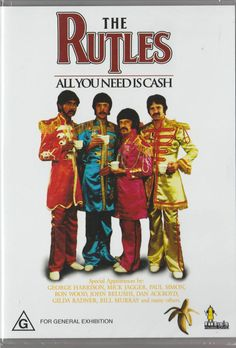 THE RUTLES - ALL YOU NEED IS CASH DVD