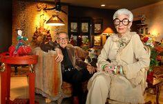 Iris e Carl Apfel