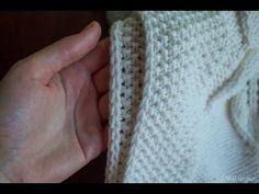 Утолщённый край из двух кромочных петель ♥ Вяжем спицами ♥ Wild Rose ♥ | вязание | Постила
