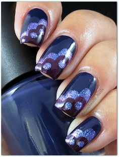 Boombastic Nails - this is so pretty, I need to learn how to do a cloud mani.