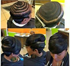 Nice sew in by theroseaffect read the article here http black hair african american hairstylesshort hairstyles for african americansshort sew in pmusecretfo Gallery
