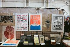 Renegade Craft Fair - stall inspiration!