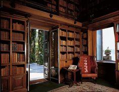Villa del Balbianello library, Lenno - Lake Como