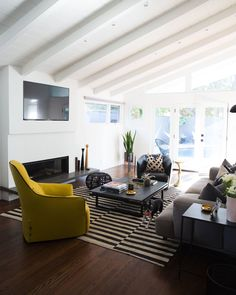 Even rockstars need a home base. When Brendon Urie, lead singer for Panic! at the Disco, and his wife Sarah stumbled upon a 1953 bungalow in Los Angeles, t