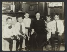 Tenement Families, circa 1915
