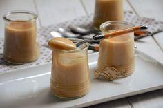 Crème dessert au caramel faoçn crème nadette