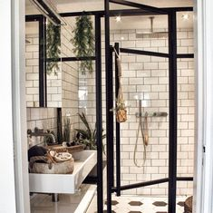 diy bathroom remodel ideas is utterly important for your home. Whether you choose the minor bathroom remodel or remodeling bathroom ideas diy, you will create the best small bathroom storage ideas for your own life. Serene Bathroom, Bathroom Wall Decor, White Bathroom, Bathroom Interior Design, Bathroom Ideas, Bad Inspiration, Bathroom Inspiration, Dyi Bathroom Remodel, Bathroom Remodeling