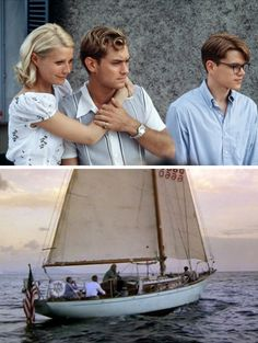 Classic Americans-in-Europe style circa 1950, via. The Talented Mr. Ripley