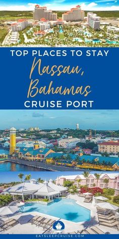 Now is the perfect time to book your trip with our complete guide to the Best Hotels Near Nassau, Bahamas Cruise Port for summer 2021 cruises. Bahamas Cruise, Nassau Bahamas, Cruise Port, Top Hotels, Hotels Near, Best Hotels, Top Place, Royal Caribbean, Travel Tips
