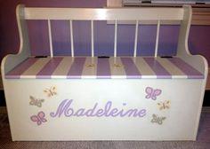Maddie's butterfly toybox