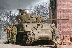 Original Articles/Content – Tank and AFV News Army Vehicles, Armored Vehicles, Sherman Tank, Armored Fighting Vehicle, Ww2 Tanks, Battle Tank, Kangaroos, Panzer, Military Art