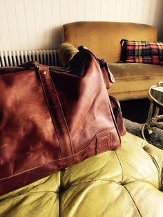 My favourite purchase, a MAHI Leather Deep Weekender Leather Holdalls, Weekender, Deep, Unisex, Tote Bag, Brown, Bags, Handbags, Carry Bag