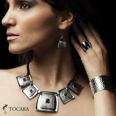 Tocara, Inc. - Live your style. Love your life. Argent Sterling, Love Your Life, Sterling Silver Jewelry, Piercing, Your Style, Jewelery, Fine Jewelry, Black Leather, Drop Earrings