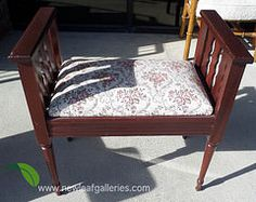 Window Bench - Floral Pattern Cushion