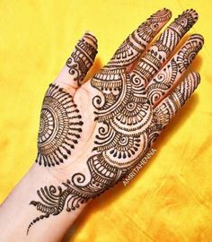 Explore Best Mehendi Designs and share with your friends. It's simple Mehendi Designs which can be easy to use. Find more Mehndi Designs , Simple Mehendi Designs, Pakistani Mehendi Designs, Arabic Mehendi Designs here. Rajasthani Mehndi Designs, Dulhan Mehndi Designs, Mehandi Designs, Mehndi Designs For Girls, Mehndi Designs For Beginners, Latest Mehndi Designs, Tattoo Designs, Henna Hand Designs, Mehndi Designs Finger