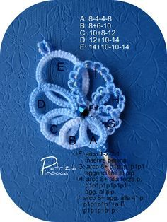 tatting Tatting Earrings, Tatting Jewelry, Tatting Lace, Crochet Earrings, Shuttle Tatting Patterns, Needle Tatting Patterns, Crochet Patterns, Tatting Tutorial, Granny Square Crochet Pattern