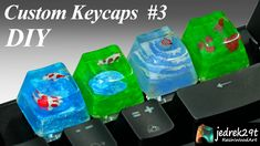 How to easily make your own individual keyboard keys epoxy resin Make Your Own, How To Make, Resin Art, Epoxy, The Creator, Keyboard Keys, Diy, Youtube, Bricolage